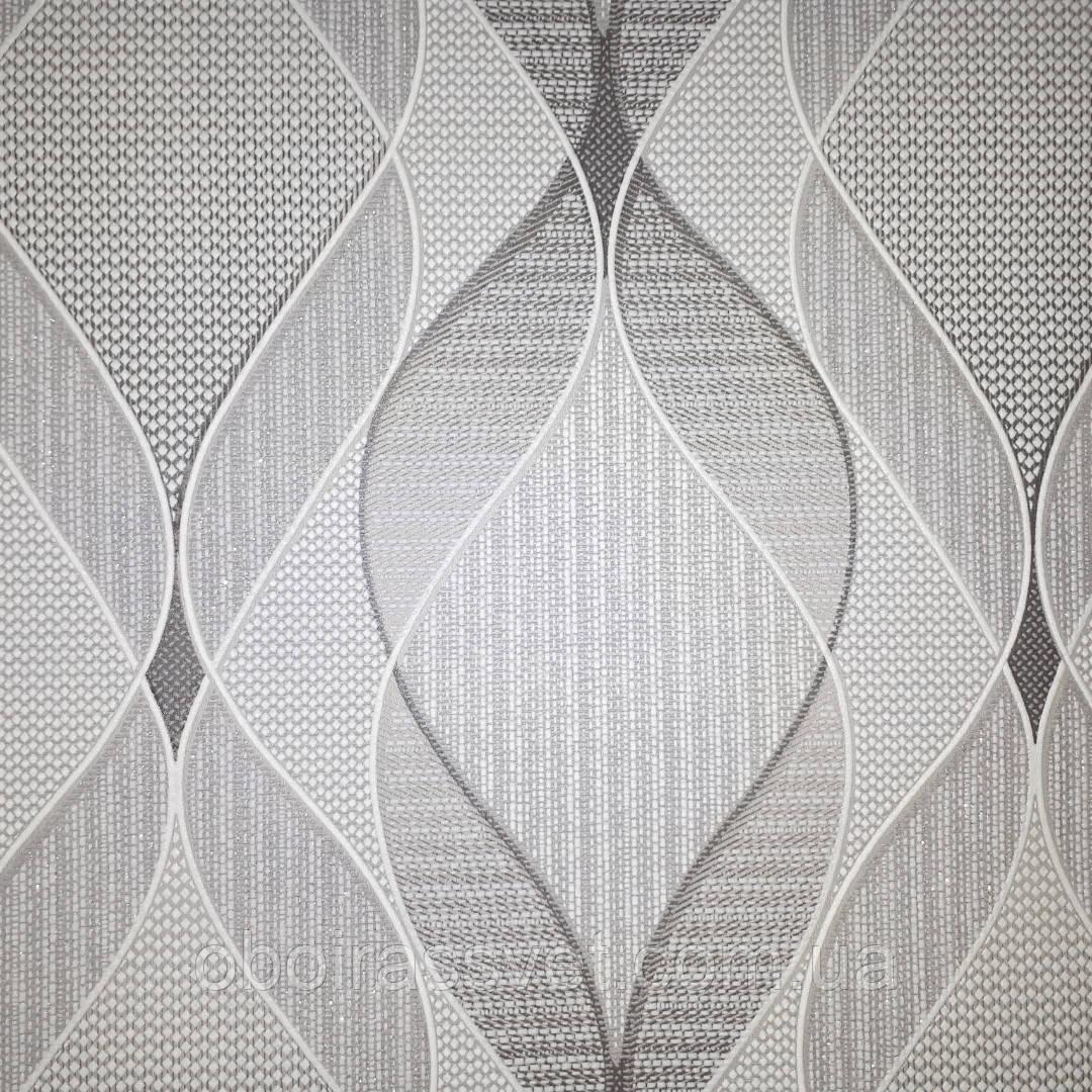 Обои Баттерфляй 2075-10,виниловые на флизелине,длина 15 м,ширина 1.06 =5 полос по 3 м каждая