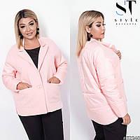 Куртка женская батальная в расцветках 51399, фото 1
