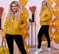 Куртка женская батальная в расцветках 51400, фото 1