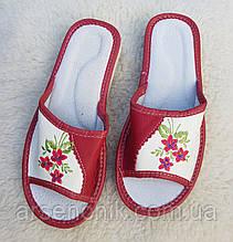 """Кожаные женские тапочки """"Polmar"""" 41"""