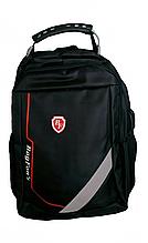 Рюкзак школьный черный ортопедический 024R