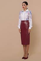Женская юбка из эко-кожи МОД. №40 Размеры S M L XL, фото 3