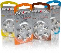 Батерейки до слухових апаратів Rayovak