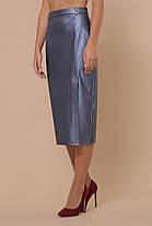 Женская юбка из эко-кожи МОД. №40 Размеры S M L XL, фото 2