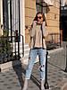 Женский трикотажный свитер с горлом