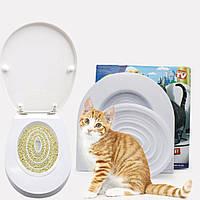 Набор для приучения кошек к туалету CitiKitty Cat Toilet