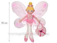 Кукла фея, мягкая, крылья для девочки, 46см