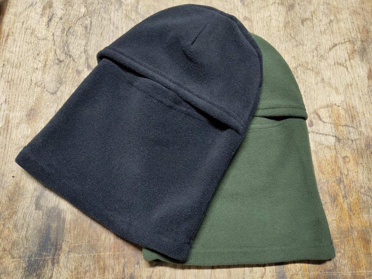 Балаклавы флисовые Хаки на осень - зиму, теплые, код: 405.