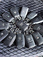 🔑 Ключница кожаная для автомобильных ключей с логотипом