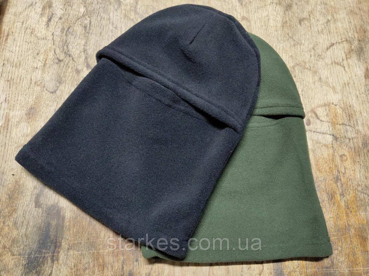 Балаклавы флисовые форменные на осень - зиму, теплые, код: 411.