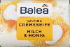 "Крем-мыло Balea Milch & Honig Creme Seife ""Молоко и мед"", 150 г."