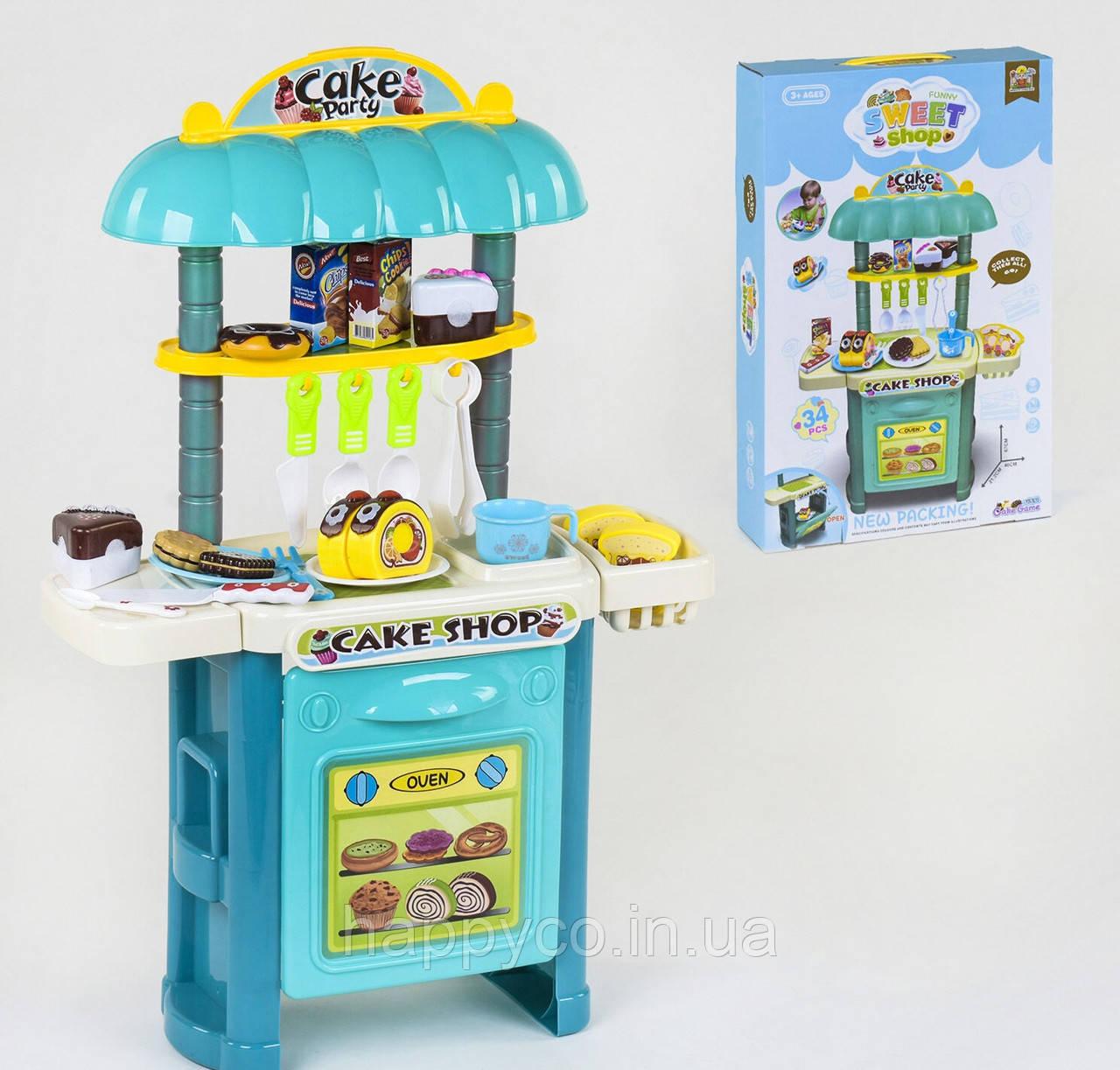 Магазин сладостей , продукты на липучках, детский игровой набор