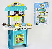 Детская кухня, магазин сладостей, продукты на липучках, детский игровой набор (примята немного коробка)