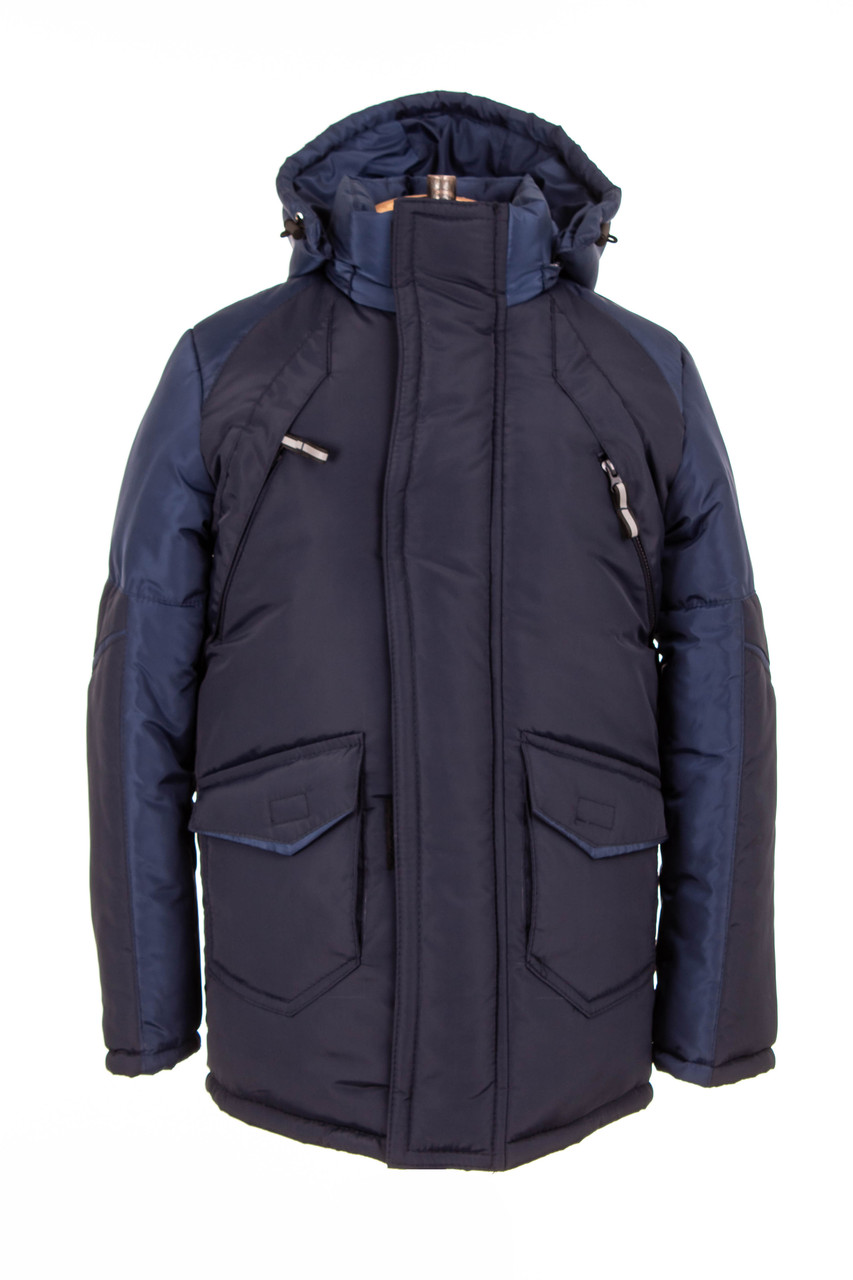 Зимняя куртка  для мальчика-подростка   34-44 красный
