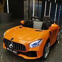 Детский электромобиль M 4105 EBLR-7, Mersedec AMG Sport, оранжевый