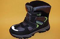 Детская зимняя обувь Термообувь Том.М Китай 5719 Для мальчиков Черный размеры 35_38, фото 1