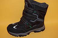 Дитяче зимове взуття Термовзуття Тому.М Китай 5720 Для хлопчиків Чорний розміри 33_38, фото 1
