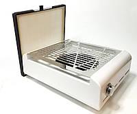 Маникюрная вытяжка настольная с многоразовым фильтром SIMEI 858-13 60Вт, фото 1