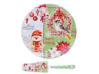 Тортовница Новогодний мишка 924-515