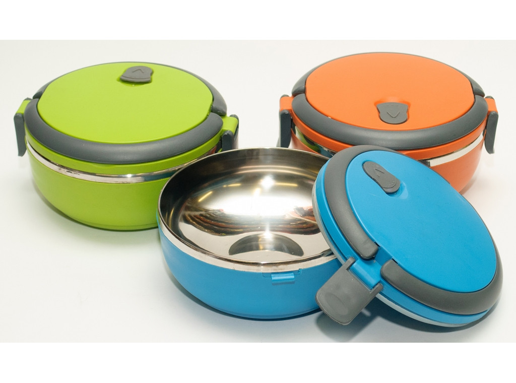 Пищевой термос T136 700мл , компактный пищевой термос, термос для еды