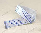 Шлейф плоский 0.5 12pin 25см прямой AWM 20624 80C 60V VW-1 гибкий кабель, фото 4