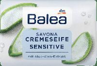 Крем-мыло Balea Creme Seife Sensitive с экстрактом алоэ вера, 150 г.