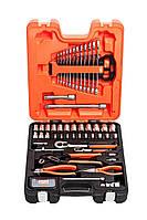 """Набор инструментов, 81 ед., Bahco, S81MIX - губцевый инструмент, биты, головки, принадлежности 1/4"""" и 1/2"""""""