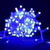 Светодиодная гирлянда Шторка 144 LED - 1,5x1,2м синий 5mm, фото 3