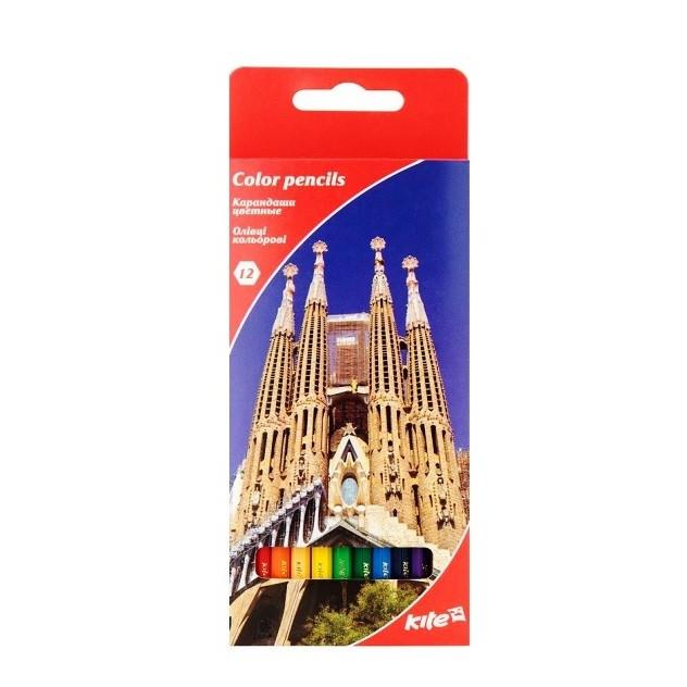 """Цветные карандаши K17-051-2 """"Города"""""""