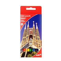 """Цветные карандаши K17-051-2 """"Города"""", фото 1"""