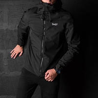 "Мужская демисезонная куртка Pobedov Jacket ""Soft Shell"" Black (S, M, L, XL, XXL размеры)"
