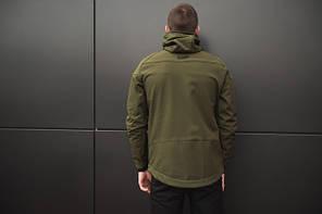 "Мужская демисезонная куртка Pobedov Jacket ""Soft Shell"" Khaki (S, M, L, XL, XXL размеры), фото 3"