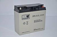 Аккумуляторная батарея аккумулятор MWS 12В 18Ач