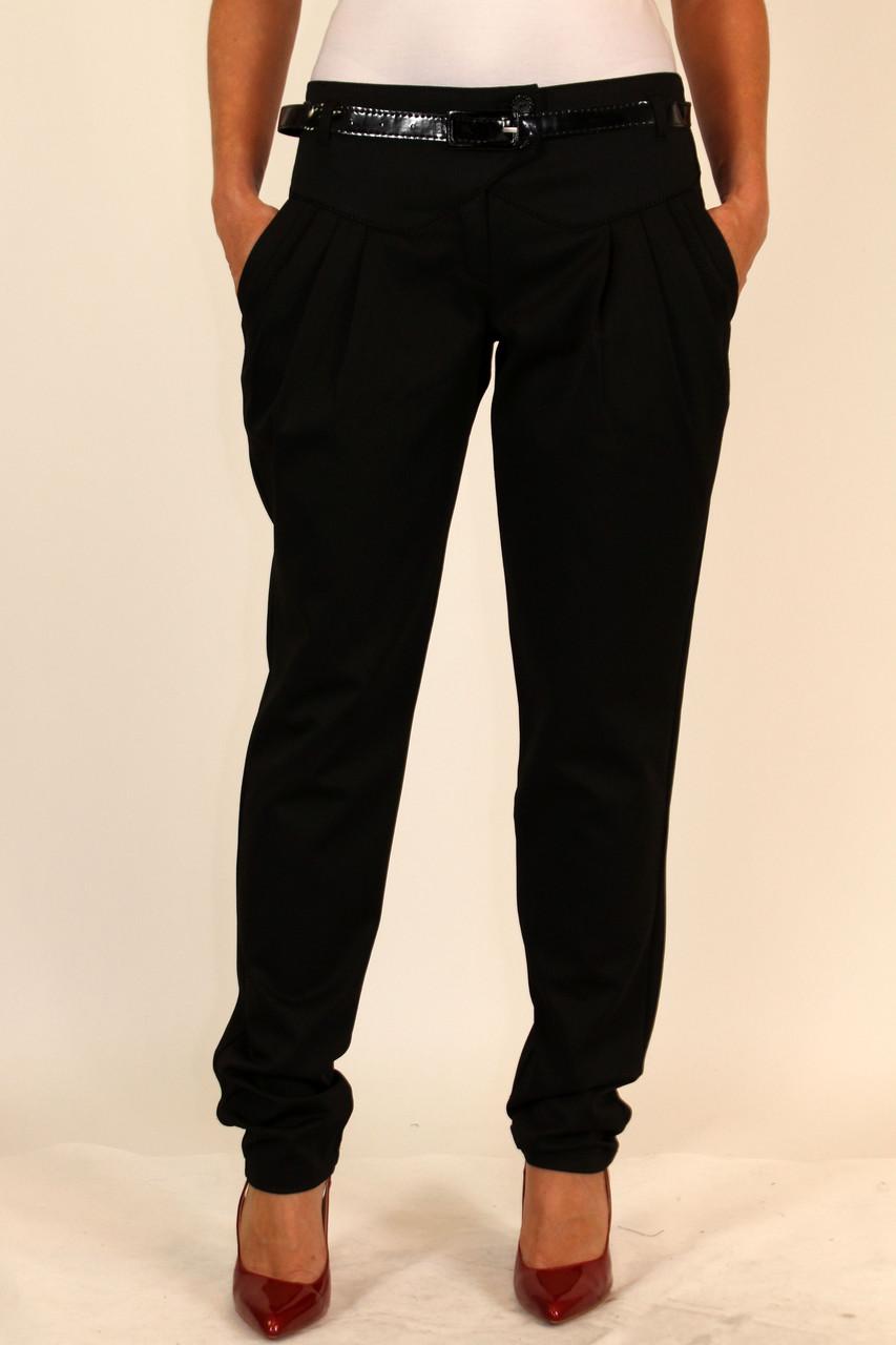 Черные классические брюки 42 р