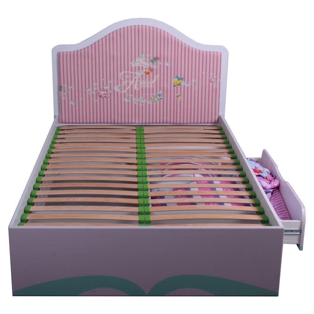 Кровать Русалочка Дизайн Дисней Русалочка 120х200 (AMF-ТМ)