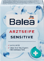 Гипоаллергенное мыло Balea Arzt Seife Sensitive, 100 г.