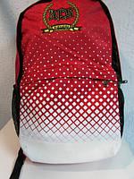Рюкзак Adidas 8951 красный с белым код 459А