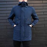 "Мужская демисезонная куртка Pobedov Soft Shell Jacket ""Japan"" Navy (S, M, L, XL размеры)"