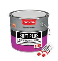 Шпатлевка NOVOL Soft Plus (многофункциональная) 4,5 кг