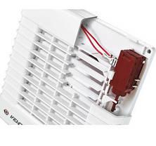 Бытовой вентилятор с авто-жалюзи Вентс 150 МА , фото 2