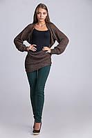 Модный молодежный свитер-шарф