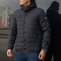 "Мужская демисезонная куртка Pobedov Jacket ""Rise"" Black (S, M, L, XL размеры)"