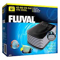 Двухканальный компрессор HAGEN Fluval Q1 для аквариума 170-300 л. (A850)