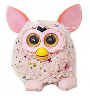 Интерактивная игрушка ферби ( furby ) пикси со звездами 16 см (розовый)