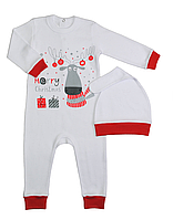 Новогодний костюм детский до года (интерлок)