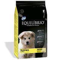 Сухой корм Equilibrio (Эквилибрио) Puppies Medium Breeds для щенков средних пород (курица) 15 кг