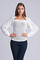 Оригинальный стильный свитер-шарф с разными вариациями
