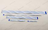 Шлейф плоский 0.5 34pin 10см реверс AWM 20624 80C 60V VW-1 гнучкий кабель, фото 2