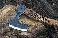 Топор скандинавский ручной работы (MINI), 40-45см