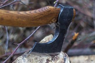 Топор скандинавский ручной работы (MINI), 40-45см, фото 3